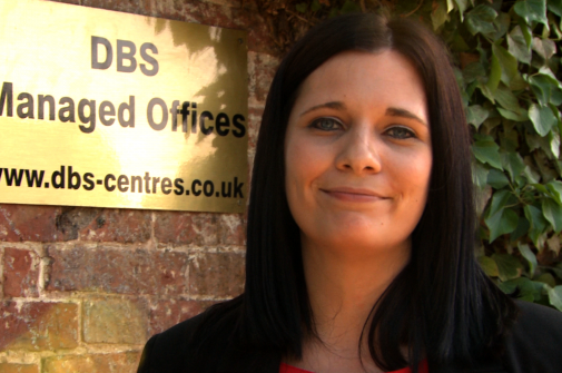 Nicky Severs from DBS Managed Offices, leicester