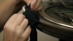 Luxury Brand video still from Pantherella film Leicester