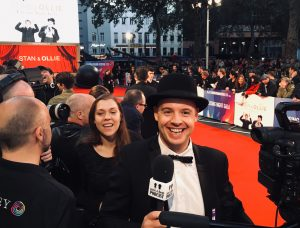 Film Premiere of Stan and Ollie the Laurel and Hardy biopic