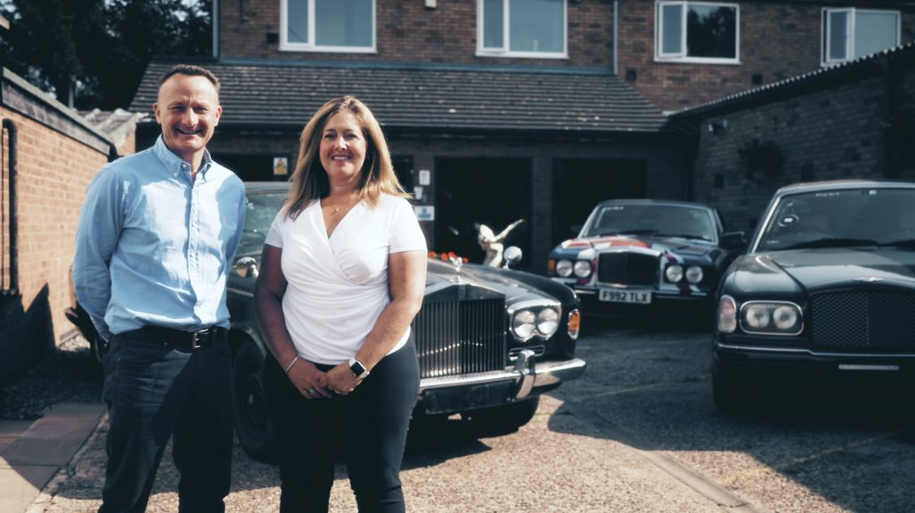 Flying spares founders Ben and Lucy Handford