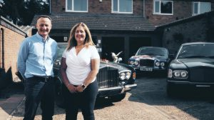 founders of Flying Spares business, Lucy and Ben Handford